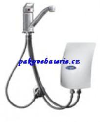Průtokový ohřívač HAKL PM 145 - 4,5 kW se stojánkovou pákovou baterií