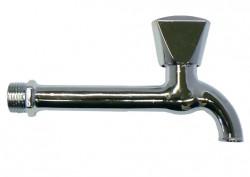 Stěnový klasický ventil na jednu vodu, chrom