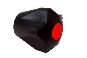 Rukojeť MYJAVA černá, červená