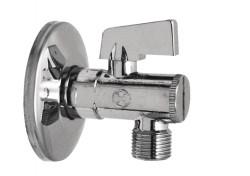 Kulový rohový ventil s filtrem a růžicí 1/2