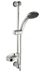ARMONY, sprchová souprava, 1-polohová sprška, mýdelník, chrom