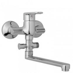 Nástěnná umyvadlová a sprchová baterie FINERY 100 mm bez příslušenství, ramínko 200 mm  F10 31 00